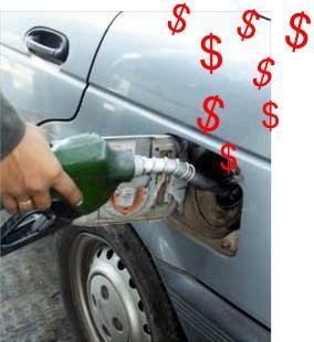 poner gasolina