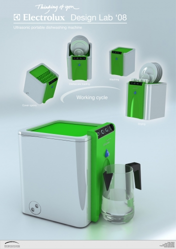 lavavajillas sin agua y sin detergente