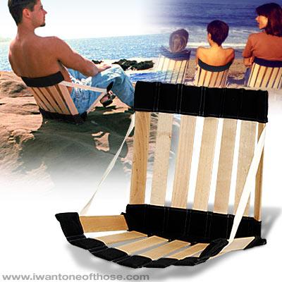 Silla ergon mica para la playa - Sillas para la espalda ...