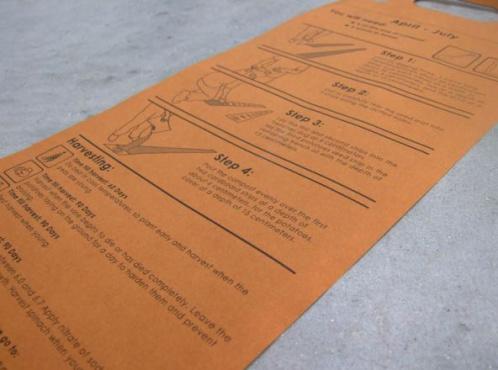 alfombra huerta instrucciones