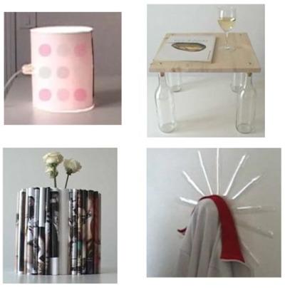 Pierre lota 8 objetos de decoraci n y reciclaje en casi - Reciclaje jardineria y decoracion ...