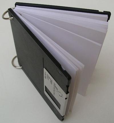 libreta diskette