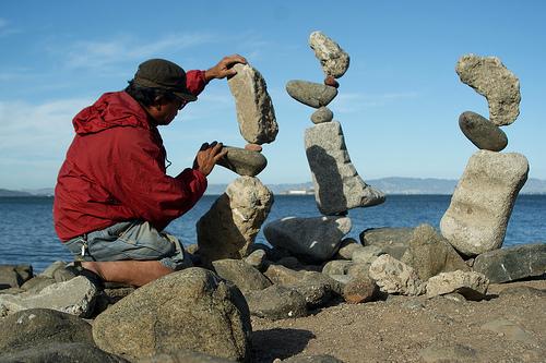 Arte piedras for Pintura sobre piedras