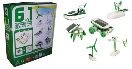 kit solar educativo 6 en 1
