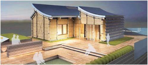 Villa solar 2010 concurso de casas solares en madrid y numerosas actividades divulgativas - Casa de bambu madrid ...