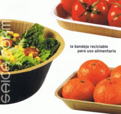 SAICA FORMA - bandeja para uso alimentario reciclable