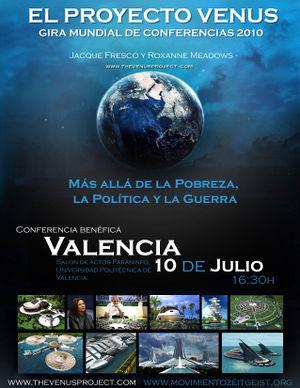El Proyecto Venus Valencia 2010