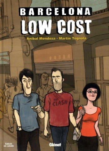 barcelona low cost el primer comic de la crisis