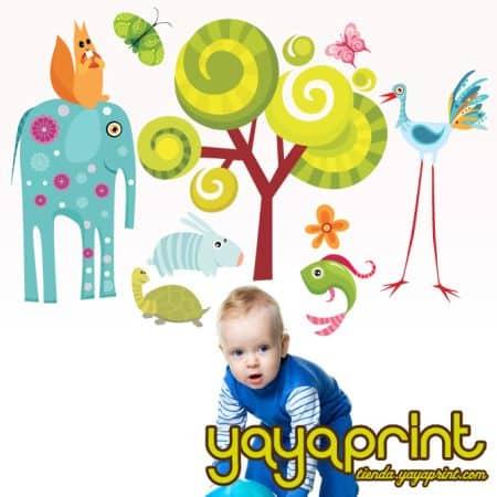 Yayaprint originales vinilos decorativos para ni os y mayores for Vinilos ninos originales