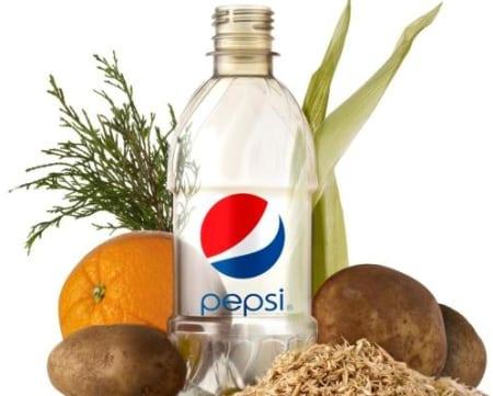 Botella Pepsi organica