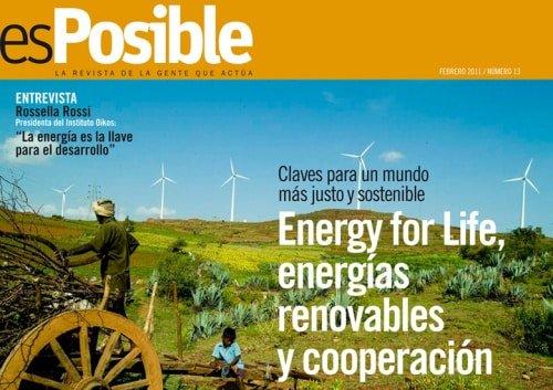 esPosible numero 13 - Energy for life energias renovables y cooperacion