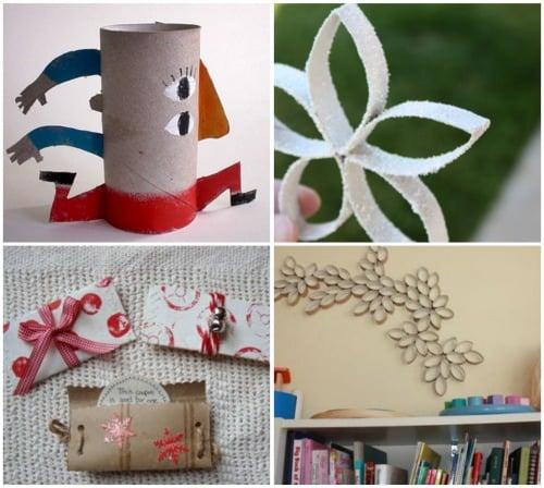 Reutilizar rollos de papel higi nico - Como decorar un rollo de papel higienico ...