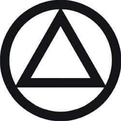 circle triangle  - El significado arcano de los símbolos: El triángulo (4)