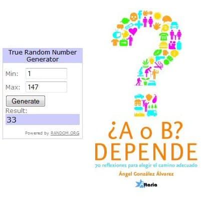 Ganadores sorteo A o B - Depende