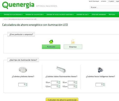 Calculadoras de ahorro de energ a los viernes de ecolog a for Calculadora ahorro