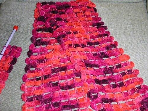 C mo hacer una bufanda de bolas paso a paso el blog - Como hacer una bufanda de lana gorda ...