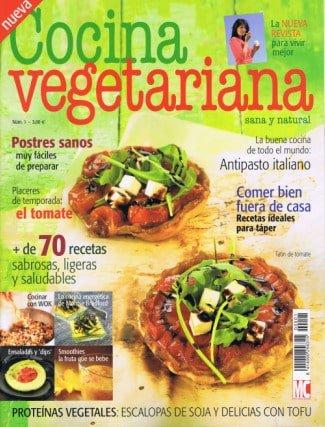 Nueva revista cocina vegetariana el blog alternativo for Blogs cocina vegetariana