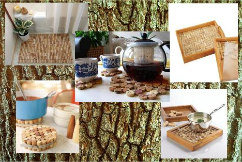 Ideas para decorar con corchos el blog alternativo - Alfombra de corchos ...