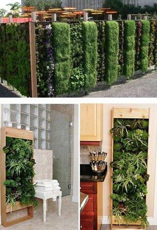 Jardines verticales elt easy green 10 ideas para tu casa for Jardin vertical interior casa
