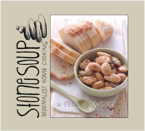 cocina casera minimalista libro en pdf para cocinar con 5