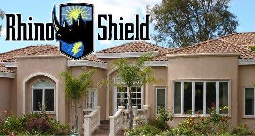Pintura cer mica de larga duraci n rhino shield 10 ideas - Pinturas para casas exteriores ...