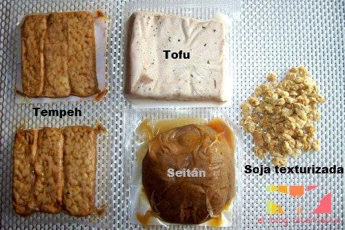 Como Cocinar El Seitan | Proteinas Vegetales Tofu Tempeh Soja Texturizada Y Seitan El