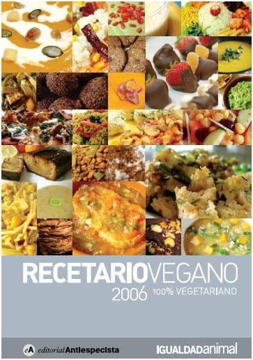 Recetario vegano en pdf. Descubre nuevas recetas - El Blog