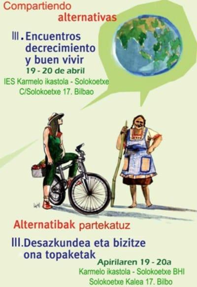 cartel decrecimiento bilbao