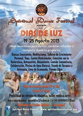 Spiritual Dance - Vacaciones Agosto 2013