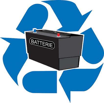 Reciclar bateria