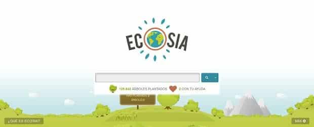Ecosia buscador que planta arboles