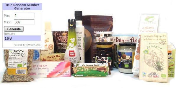 Ganadora Sorteo GlutenFreeShop