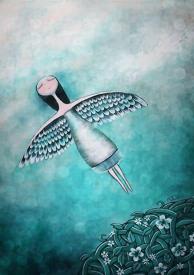 spread yor wings