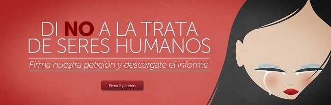 Di no a la trata de seres humanos