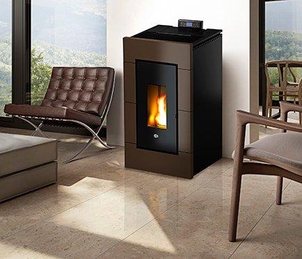 Estufas de pellets calefacci n ecol gica y econ mica - Tipos de calefaccion economica ...