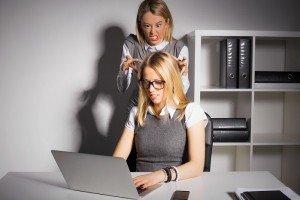 Compañeras de trabajo difíciles