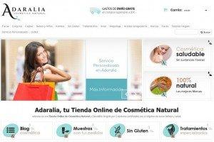 Adaralia cosmética natural
